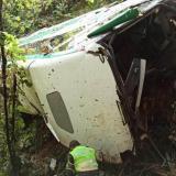 Cuatro muertos en accidente de bus que cubría la ruta Santa Marta-Bucaramanga