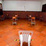 Las aulas del Instituto La Salle ya se encuentran demarcadas.
