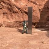 En video | Encuentran un monolito metálico en medio del desierto de Utah