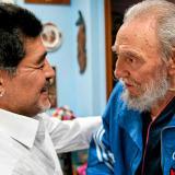 El mismo día que muere Diego Maradona, falleció Fidel Castro