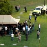 Los restos de Maradona llegan al cementerio para el último adiós
