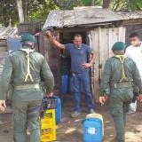 CRA suspende almacenamiento de gasolina en predio privado en Baranoa