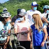 Nueva estrategia para escoltar y asistir en las vías a ciclistas en Atlántico