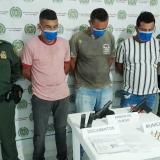 Capturan a presuntos miembros del Clan del Golfo en Sucre