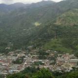 Aspecto del municipio de Argelia, en el Cauca.