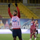 Miguel Ángel Borja es el goleador de la liga colombiana con trece anotaciones.