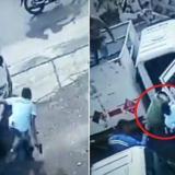 En video   Con cilindro de gas enfrentan a ladrón e impiden atraco