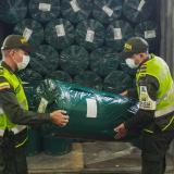 Aprehenden cargamento de telas de contrabando en Cartagena