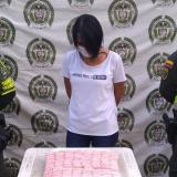 Capturan a mujer con 'narcofaja' en Aracataca
