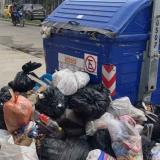 Contenedores repletos de basuras, imagen que preocupa a samarios