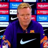 """""""Algunos comentarios desde dentro del club no nos ayudan"""": Koeman"""