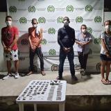 Desarticularon al a banda 'Los Quemaos' por tráfico de estupefacientes