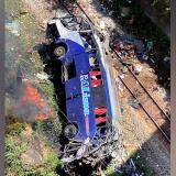 Bus se precipita al vacío en Brasil: 16 muertos