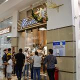 Compradores en el día sin IVA en Barranquilla.