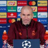 """Zidane aseguró que el Borussia Mönchengladbach es un """"equipo muy bueno""""."""