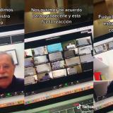 Estudiantes dan una sorpresa vía Zoom a su profesor y esta fue su reacción