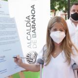 En Baranoa se firmó convenio de alumbrado público