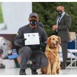Fiscalía condecoró y jubiló a 15 caninos que cumplieron con su servicio