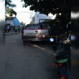 Asesinan a un hombre dentro de una camioneta en Las Moras, Soledad