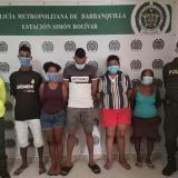Desmantelan banda de vendedores de drogas