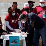 "Leopoldo López participa en la consulta de Guaidó como un ""grito de libertad"""