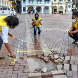 Cartagena realiza inventario de estado de las vías