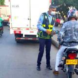 Operativos del DATT entre motociclistas de Cartagena.