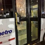 Transmetro denuncia vandalismo contra buses de la ruta A5-3 La Central