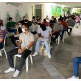 Víctimas del conflicto en Atlántico reciben libreta militar gratis