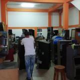 Reportan en Barranquilla el decomiso de 168 máquinas tragamonedas