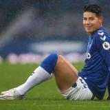 Este será el cuarto encuentro que se pierda el colombiano de forma consecutiva con el Everton.