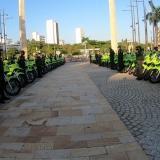Las motos entregadas este martes a la Policía de Cartagena.