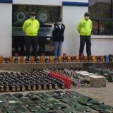 Policía decomisa más de mil botellas de whisky adulterado en Montería