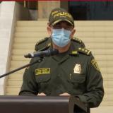 Director general de la Policía Nacional, general Jorge Vargas.