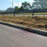 Lugar de los hechos cerca al puente Viejo de Gaira, en el sur de Santa Marta.