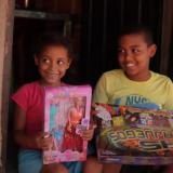 Aguinaldos que alegraron a los niños de la Costa