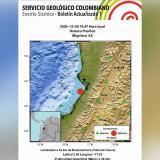 Sismo de magnitud 4.5 se sintió en varias zonas del país