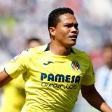 El delantero, ex Junior de Barranquilla, entró en el segundo tiempo a falta de siete minutos.