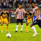 Junior enfrentó al Medellín en el Metro en 2020.