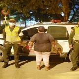 """Alias """"La Gorda"""", capturada por la Policía."""