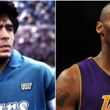 Diego Maradona y Kobe Bryant.