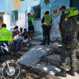 Uniformados realizaron patrullajes para controlar fiestas en espacio público.