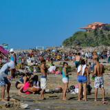 Cierre de playas en Puerto por afluencia de turistas