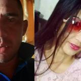 Édgar Mercado y Daniela Hoyos, víctimas.