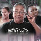Las protagonistas de 'Las Gardenias' son algunas de las mujeres afectadas por el desplazamiento en el país.