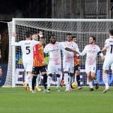 Milan viene de vencer al Benevento para asegurarse como líder de la Serie A.