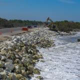Colapso de vía Ciénaga-Barranquilla por erosión está latente: expertos