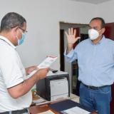 Designan alcalde (e) de Tenerife ante muerte del titular Freddy Ramos H.