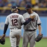 Francisco Lindor y Carlos Carrasco son los nuevos jugadores de los Mets de Nueva York.