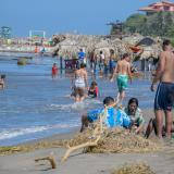 Este fin de semana de puente festivo, las playas en el departamento funcionarán con medidas especiales.